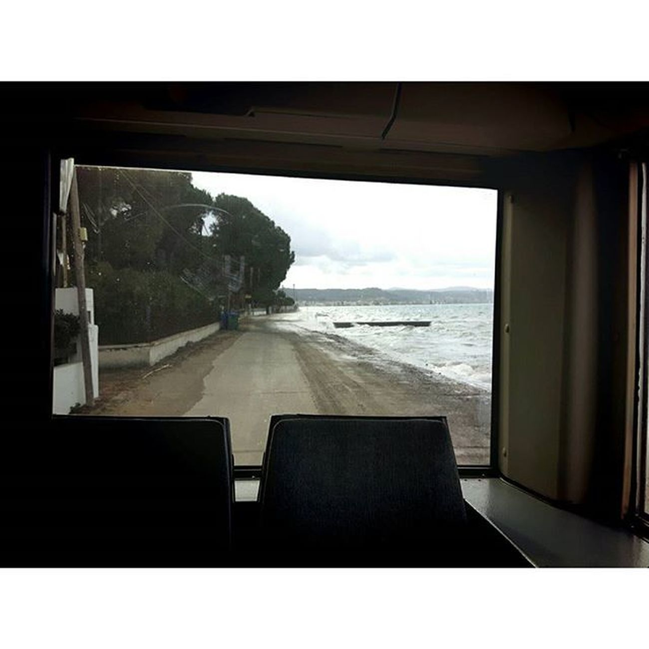 On the way back to Patras Insta_patras Instapatra Astiko5 Sea Windowview Sea Winter