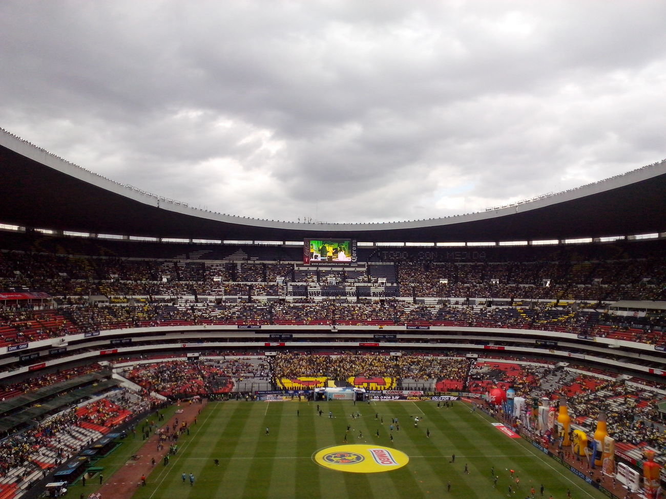 Coloso Estadioazteca America Y Ya Paps