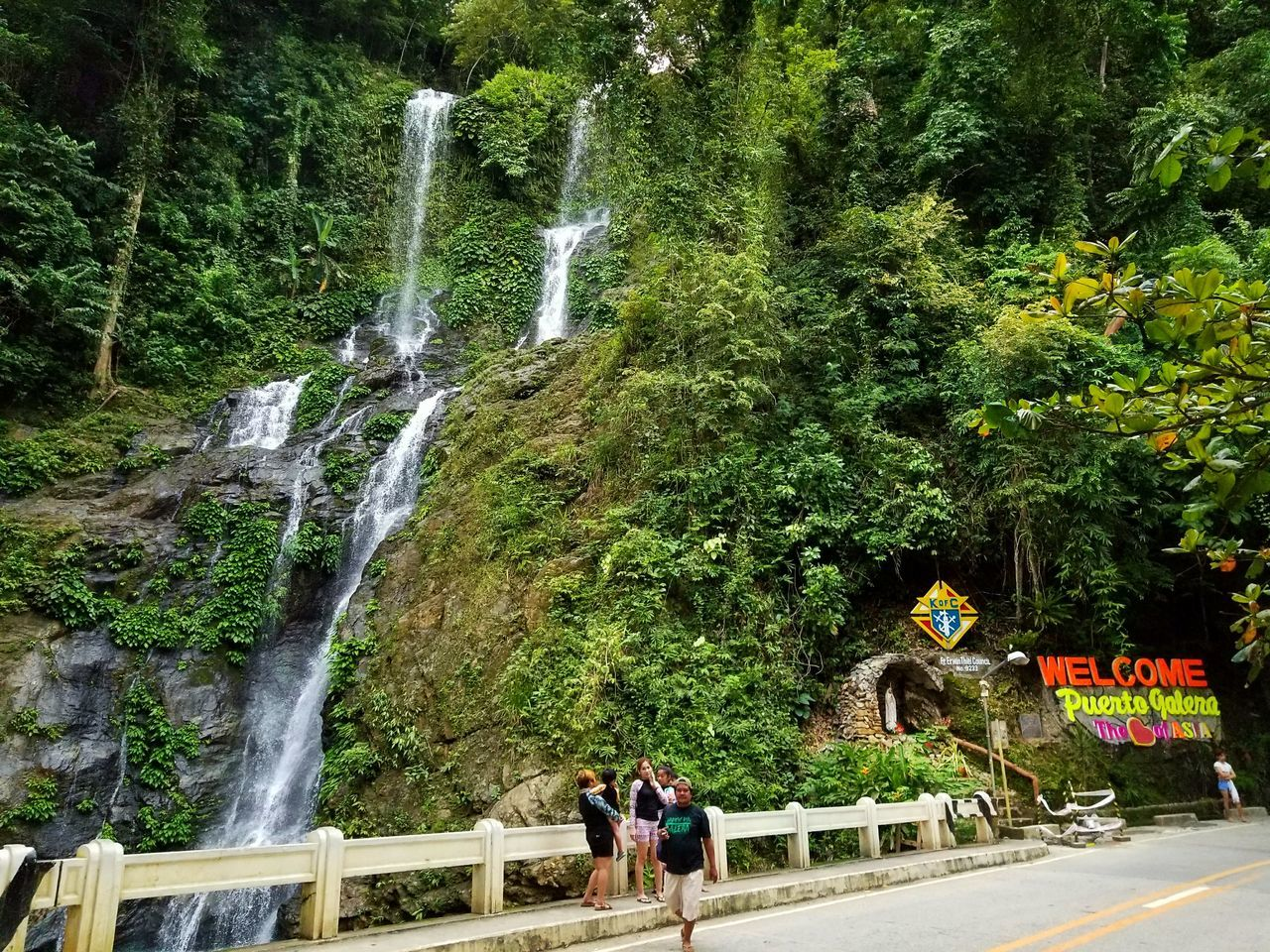 Tamaraw falls in mindoro PhilippinesEyeEm Best Shots Travel Travel Photography Tropical Climate Travelphotography EyeEmBestPics Waterfall Philippines Photos Vacations Travel Destinations Landscape Beauty In Nature Water