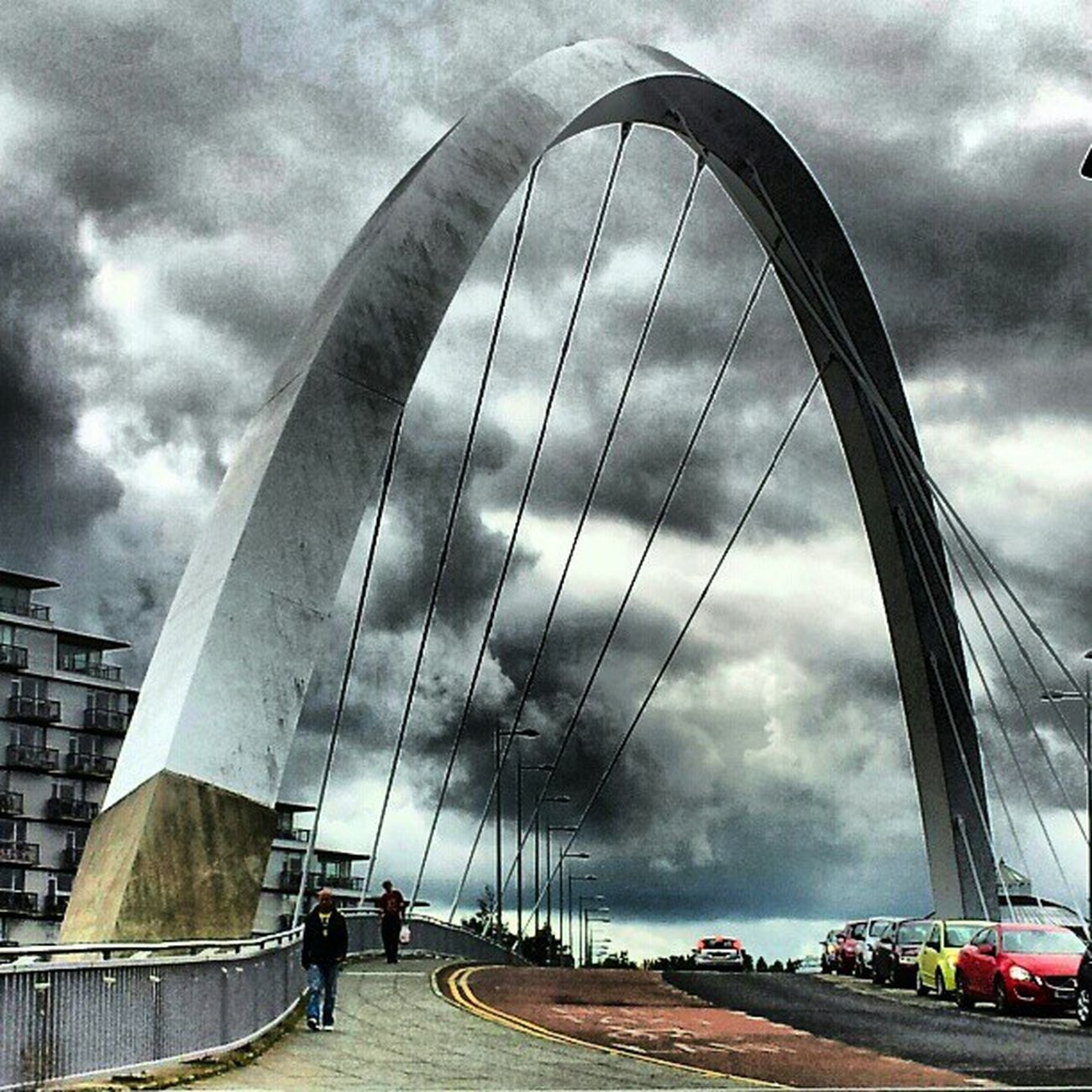 'Squinty Bridge' SquintyBridge Glasgow  Scotland Bridgeporn bridges architectureporn Structure Cloudporn sky skyback skyporn sky_collection igtube Igers igdaily Tagstagram most_deserving icatch BD thebestshooter iphonesia photooftheday insta_shutter Instagood insta_pick