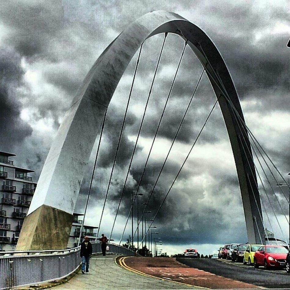 'Squinty Bridge' SquintyBridge Glasgow  Scotland Bridgeporn bridges architectureporn Structure Cloudporn sky skyback skyporn sky_collection igtube Igers igdaily Tagstagram most_deserving icatch BD thebestshooter iphonesia photooftheday insta_shutter Instagood insta_pick