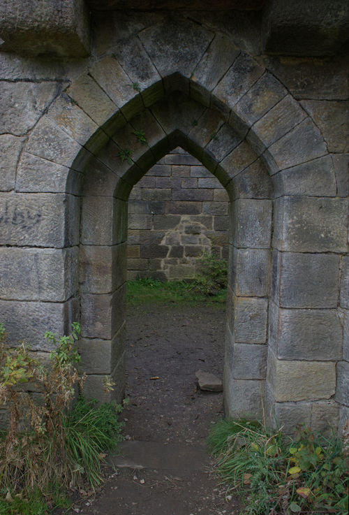 Arch No People Built Structure Architecture Day Outdoors Rivington Country Park Ruin Stone Wall Doorway