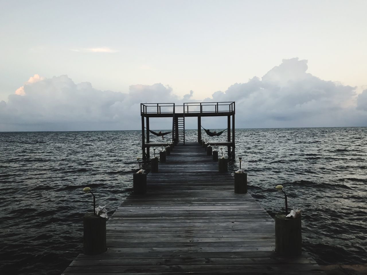 Docks Beach Nature Dusk Sky Clouds And Sky Cloud Relaxation Serenity EyeEmNewHere