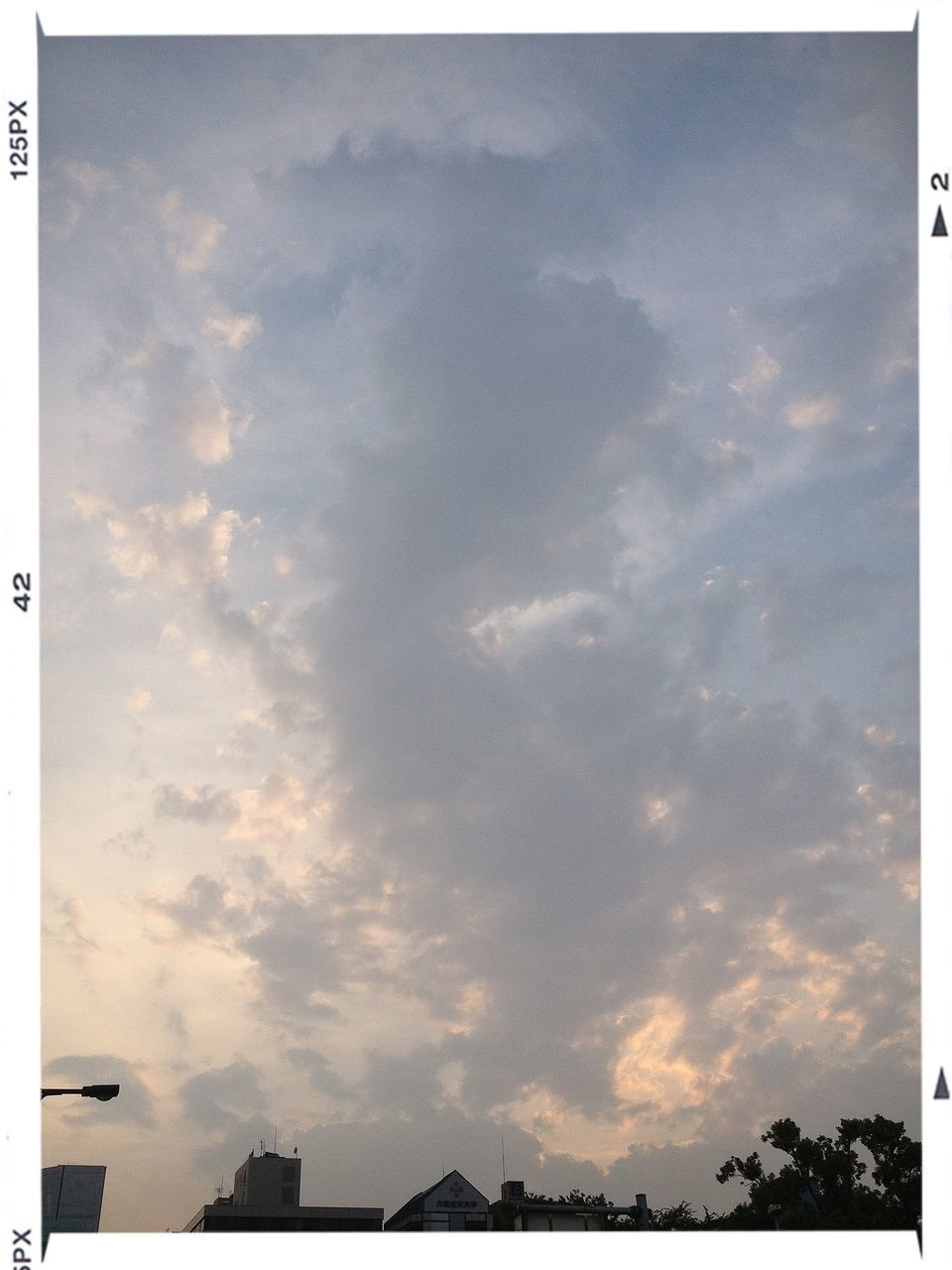 sky, cloud - sky, no people, built structure, outdoors, low angle view, building exterior, silhouette, architecture, beauty in nature, sunset, nature, scenics, backgrounds, day
