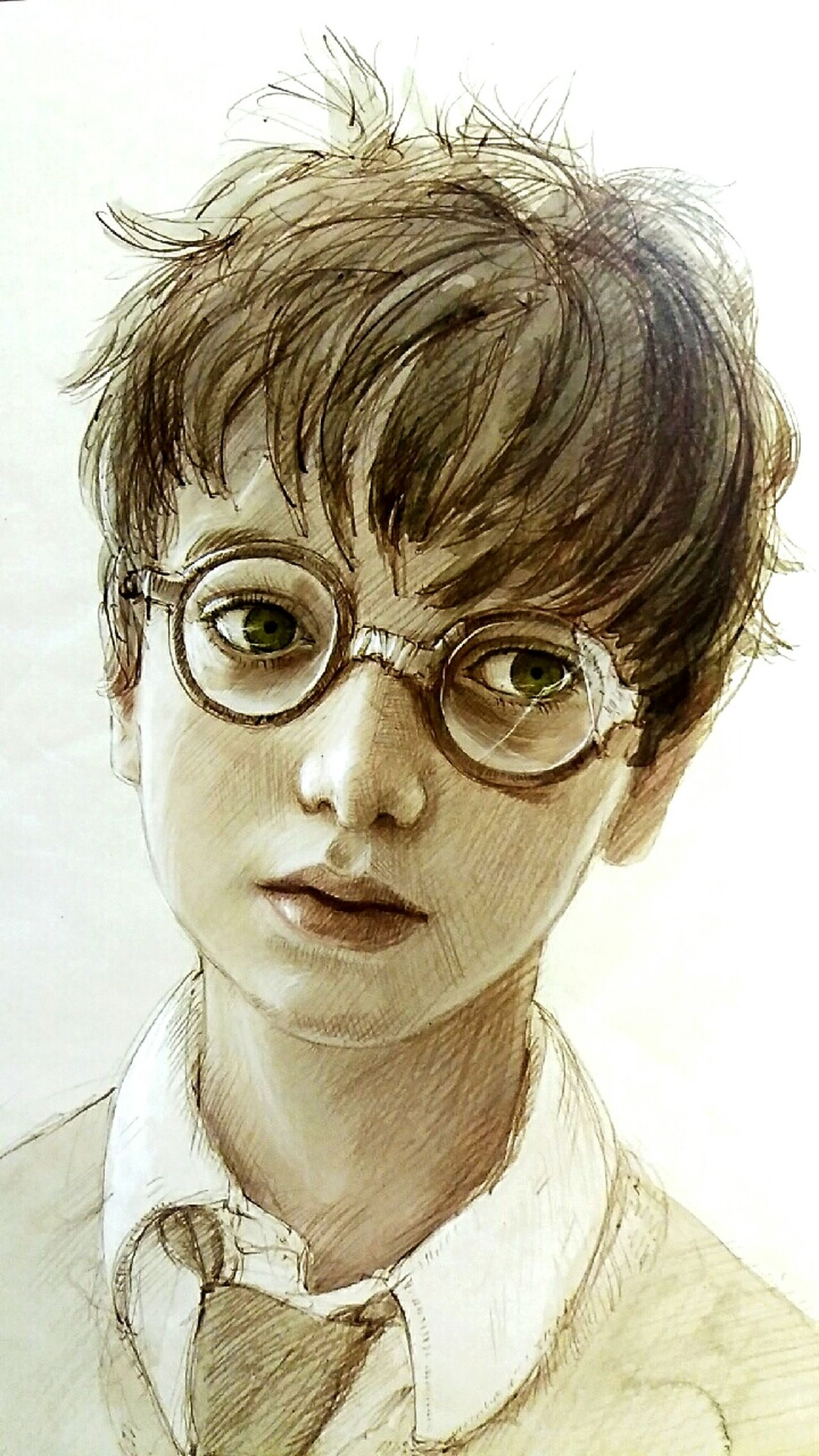 One Person People Harry Potter HP Portrait J.k. Rowling Philosophical Stone Book Books ♥ Harry Potter ❤ Harry Potter ⚡ Looking At Camera Young Adult