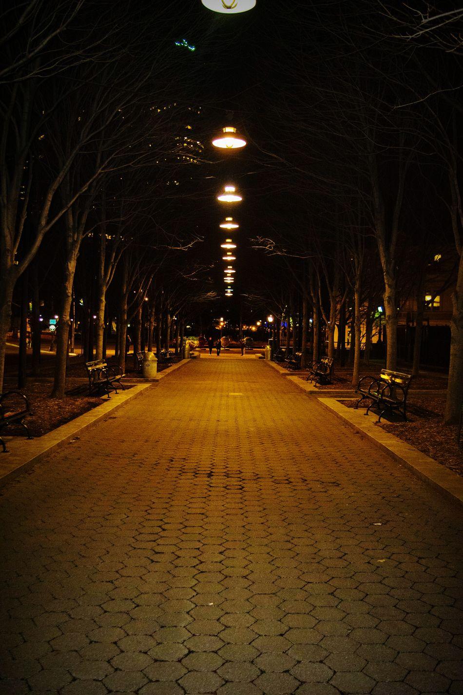 Walking around Bryantpark Somoody Nightphotography Newyork