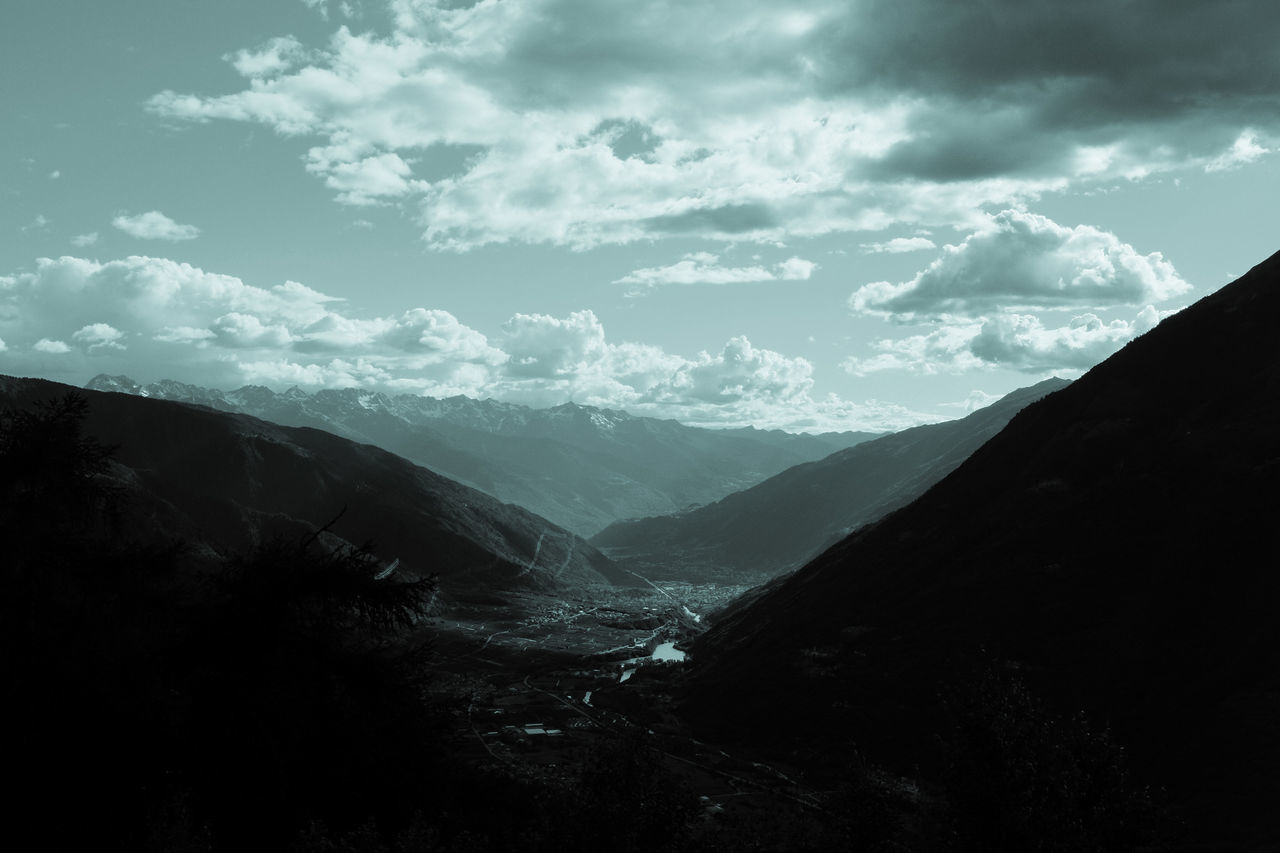 Valtellina as seen from Passo Mortirolo Fujifilm Fujilove Valtellina Passo Mortirolo Alpine Pass Alpi Orobie Alpi Retiche Rhaetian Alps Orobian Alps Alps Alpine Landscape Alpine Roads Lombardia Italy Monochrome Monochrome Landscape Monochromatic From Above  From Above World Looks Smaller
