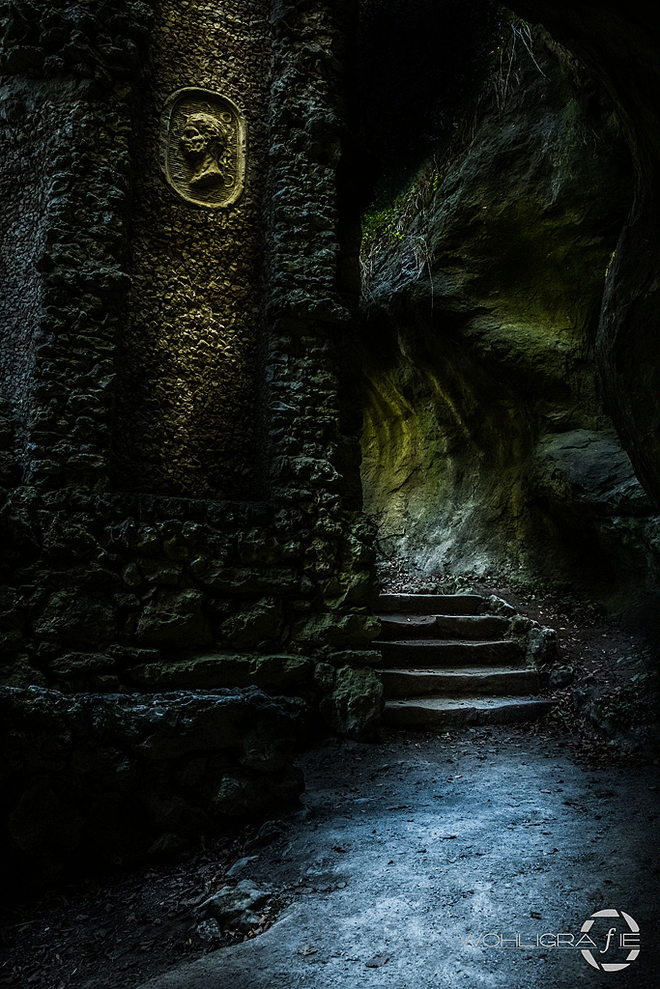 Dark ways Steps The Way Forward Stone Stone Material Tranquil Scene No People Mystyle Lightroom Mystical Atmosphere Spooky Atmosphere Mystic Nature Taking Photos Hanging Out Outdoors Ancient Civilization Bad Condition Weathered Ancient The Past Historic Architecture Built Structure