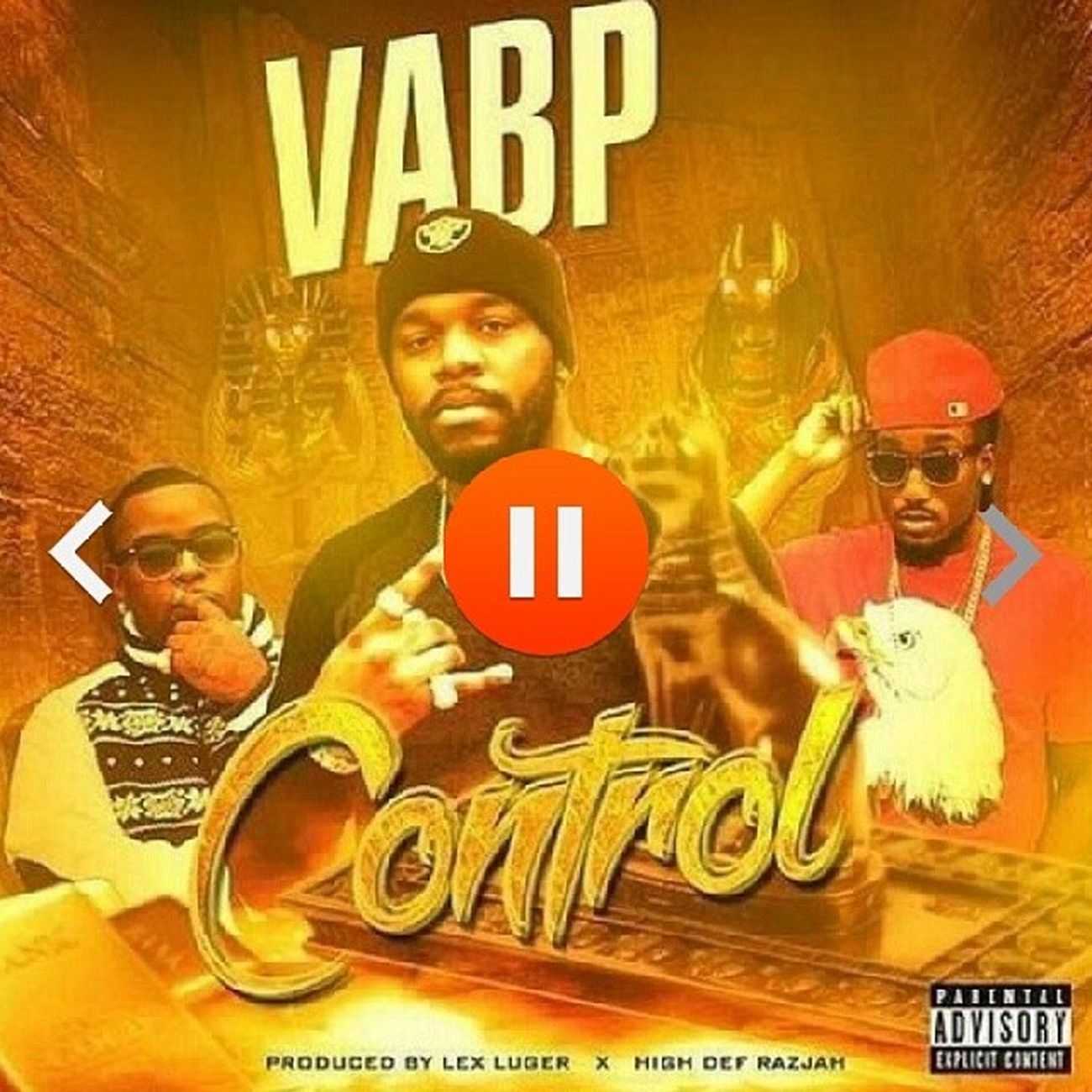 "Go Bang That New VABP-"" Control""! Produced By Lex Luger X HighDefRazjah Shxts Fire. https://m.soundcloud.com/hitmakervic/control?utm_source=soundcloud&utm_campaign=share&utm_medium=twitter VABP INKBOYZ Gwapstar Tdc studiolife music rap beats hardworking hiphop motivation instrumentals bars Classic Artist YoungNiggaz Theavebyslim"