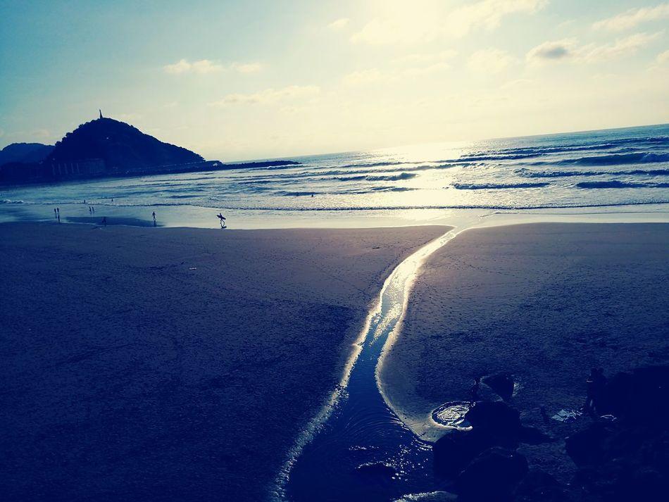 Good Times Summer2016☀️ Beachphotography Water Way Surfing Culture Of Spain Sansebastian Bestbeachintheworld