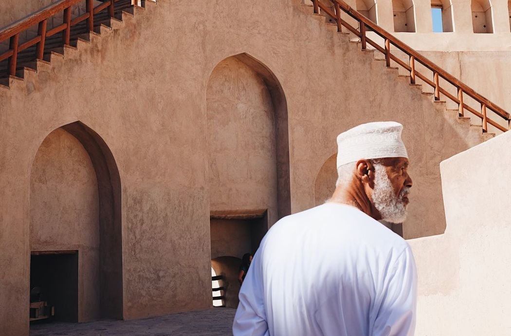 Only Men Adults Only One Man Only One Person Adult Outdoors Cultures People Arabian Arab Oman Omani History Built Structure Outdoor Street Photography Streetphotography People Photography Travel Capture The Moment Old Nizwa Nizwa Fort EyeEm Gallery From My Point Of View