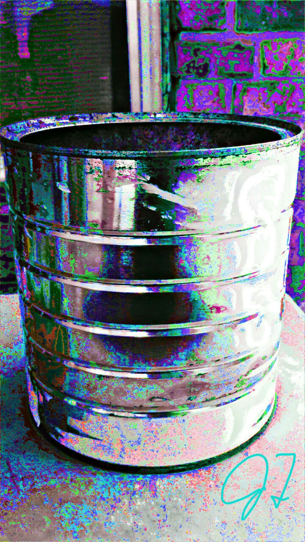 """Painted Can"" The Innovator The Innovator Colorful Color Colors ManyColors Multicolored Multi Colored Art Photography Artphotography Pivotal Ideas Effect The ınnovator Lighting Abstract Surreal Hew Innovative Colour Of Life Electronic Art Computer Art Computerarts Computer Computer Arts Computer Artist Fine Art Photography"