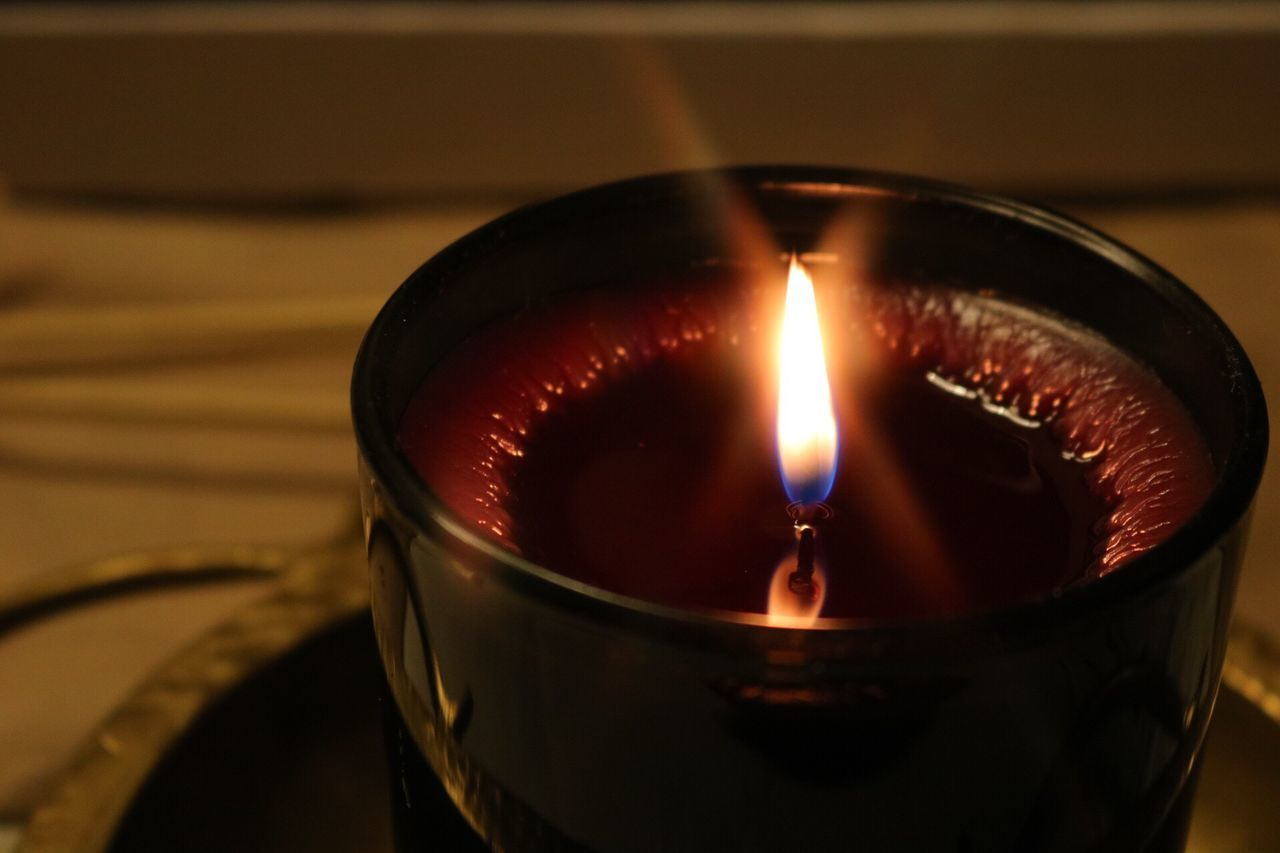 Candle light is hypnotizing... Candle Light Starlight ISO