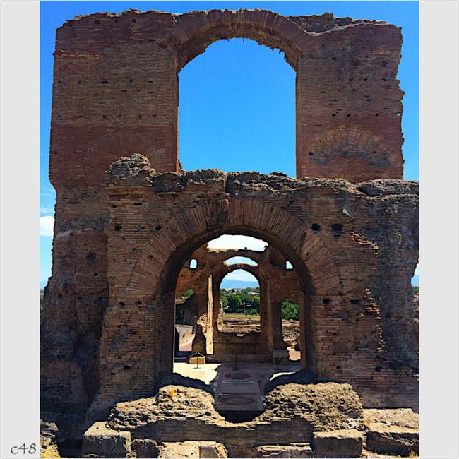 Appia Antica Italy Rome Old Buildings Architecture Historical Building Villa Dei Quintili Discovering Great Works Roma