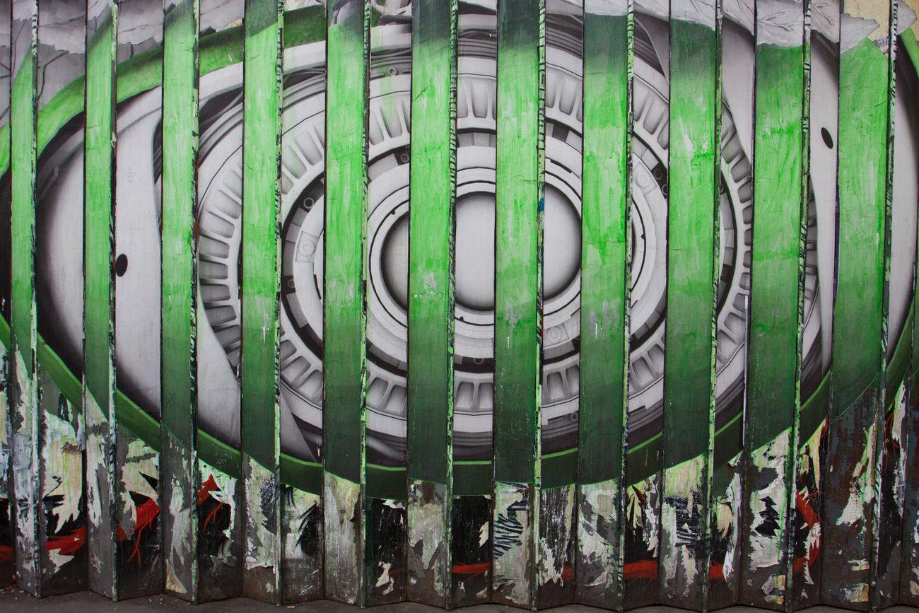 London Eye Abstract City Eye Graffiti London Shoreditch Street Street Art