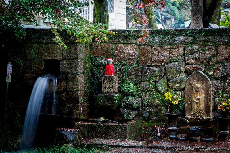 雨のお地蔵さん💕 Nature Power In Nature Relaxing 雨