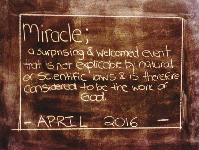 Chalkboard Wall Pregnancy Announcement Wife Baby On The Way