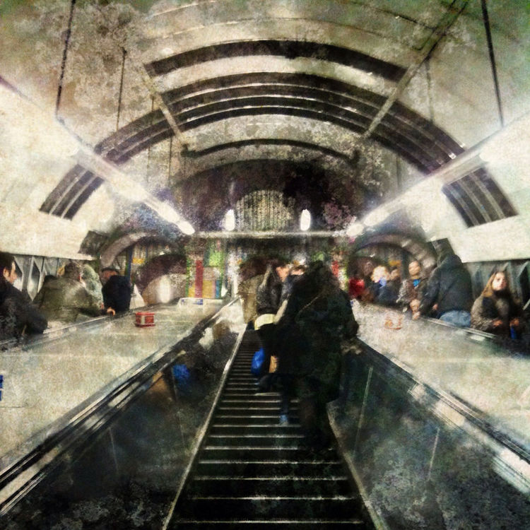 subway at London by Beatrice X