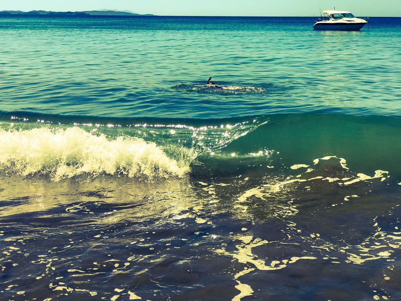 Sea Water Wave Outdoors Nature Beach Summertime Fun Beach Life Exploring Landscape_Collection Beachbum