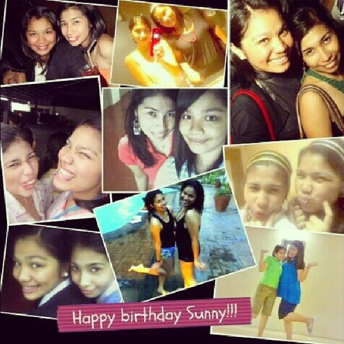 Happy birthday to my Sunnybabes @mheggieh! ♥ God bless you more and enjoy your special day. I terribly miss you and loooove you! :* Bestfriends Collegebestie