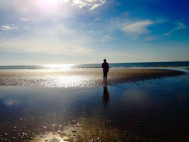 Enjoying Life Relaxing Paradise Beach Sun ☀ Travel Reflet Taking Photos