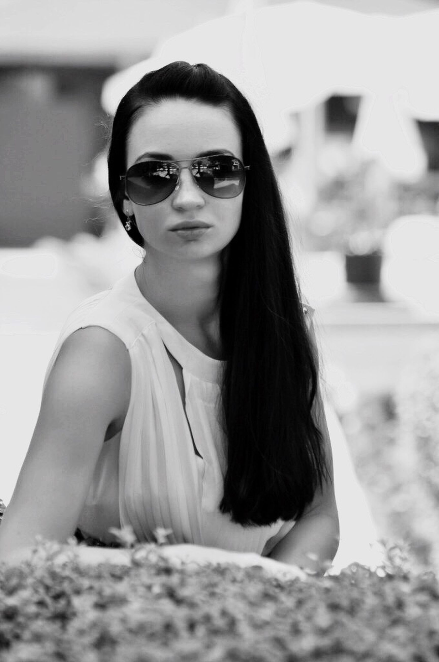 sunglasses, portrait, looking at camera, young adult, beautiful woman, beauty, one person, young women, one young woman only, beautiful people, only women, one woman only, adult, outdoors, women, people, close-up, adults only, day