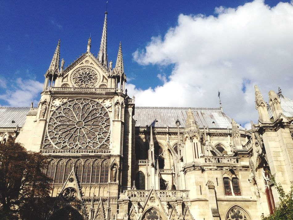Beautiful stock photos of notre dame, Architecture, Building Exterior, Built Structure, Cathedral