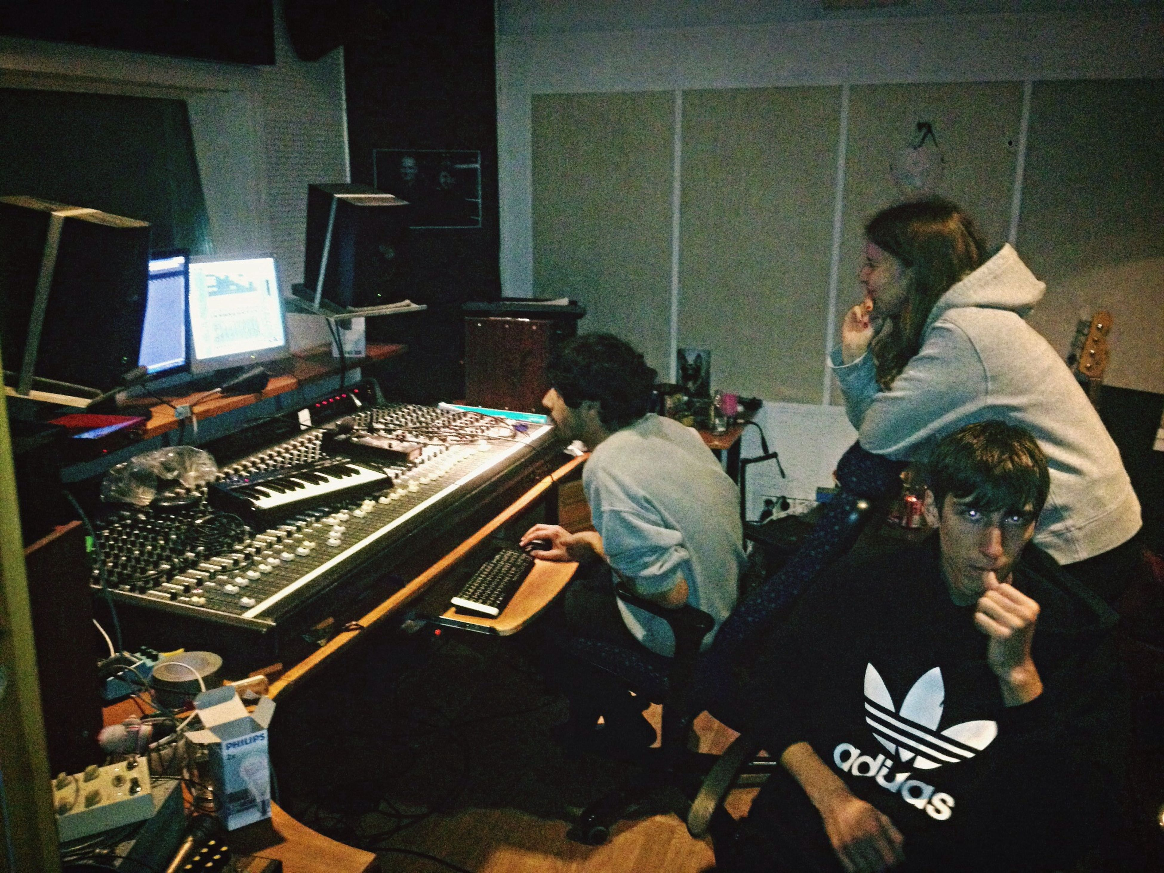 Producing a hit single Happy Hands Club