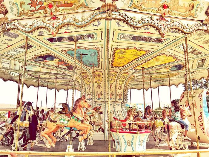 Amusement Park Carousel Arts Culture And Entertainment Carousel Horses Amusement Park Ride Animal Representation Horse Merry-go-round Enjoyment Fun Leisure Activity Outdoors Carrousel Amusement Ride Amusement Park Rides Kidrides Funday Theme Park Theme Park Ride Kids Having Fun Kids Photography Amusement  Amusementphotography Amusement Park Attraction Amusement Games Breathing Space Investing In Quality Of Life The Week On EyeEm