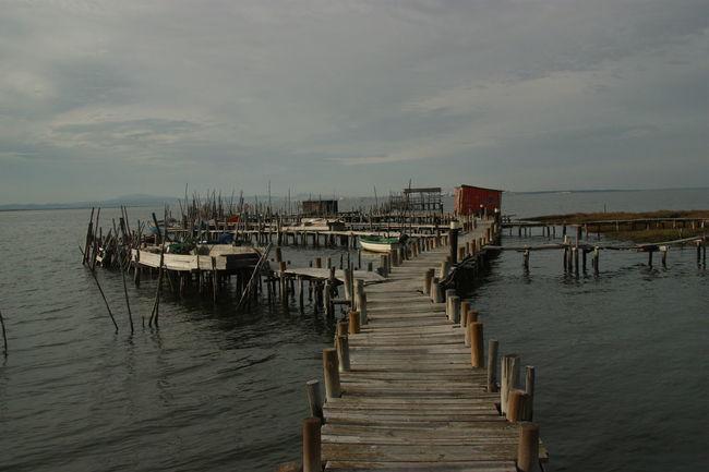 Pier #boat #cais #carrasqueira #deck #doca #docks #fishing #freshfish #pesca #sea #Woodpier Water