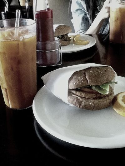 Vegan lunch with Lorilyn<3