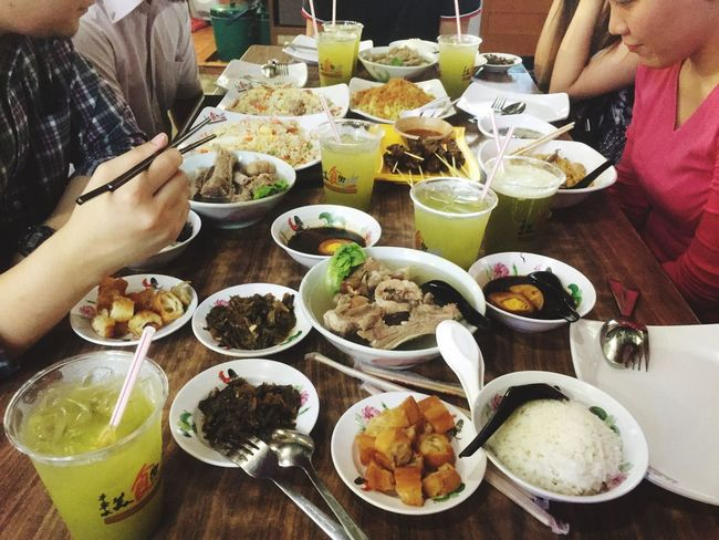Food trip after the UX meetup Bahkutteh