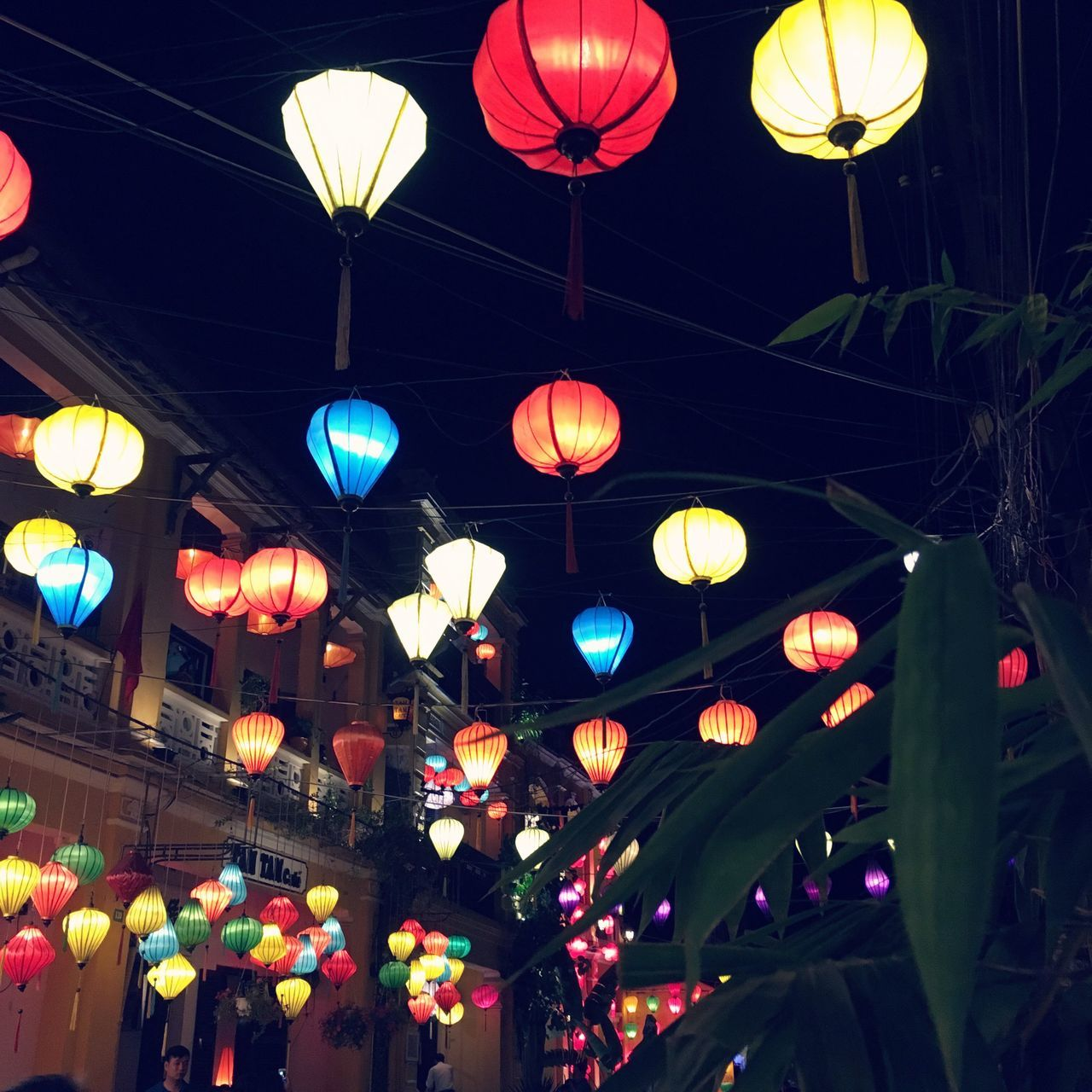 Hanging Illuminated Lighting Equipment Lantern Night Voyage Travel Vietnam Travel Destinations Hoi An