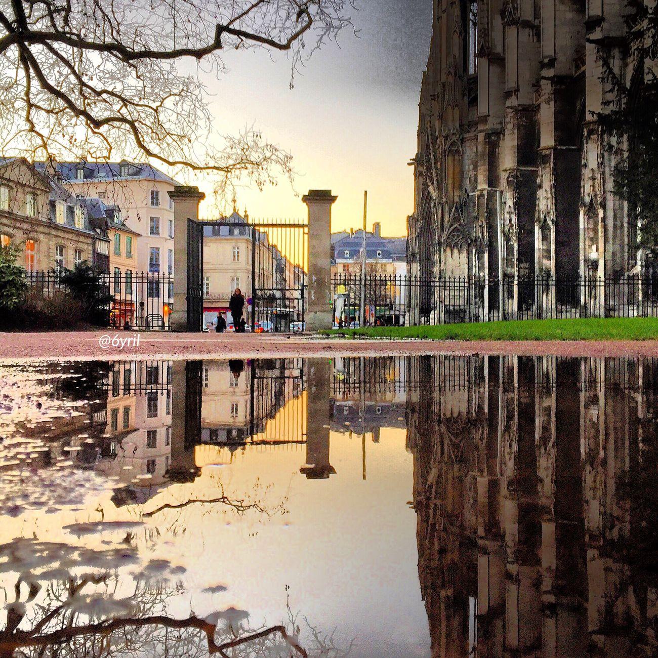 Rouen Rouen, France Rouentourisme Normandie Normandy Normandia  Normandie France France France 🇫🇷 Puddle Reflections Reflections