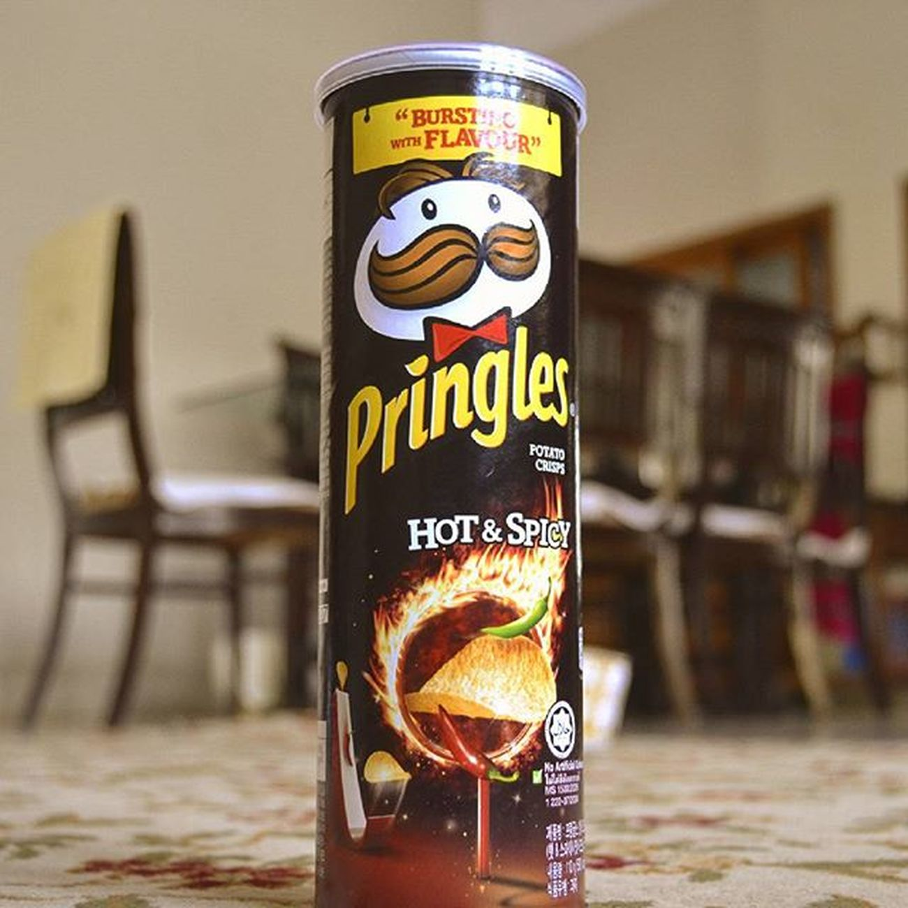 Love of Life' Pringles Hotandspicy Tangywednesday