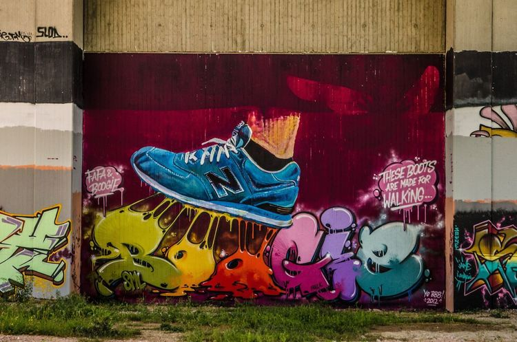 New Balance Street Art Graffiti Boogie