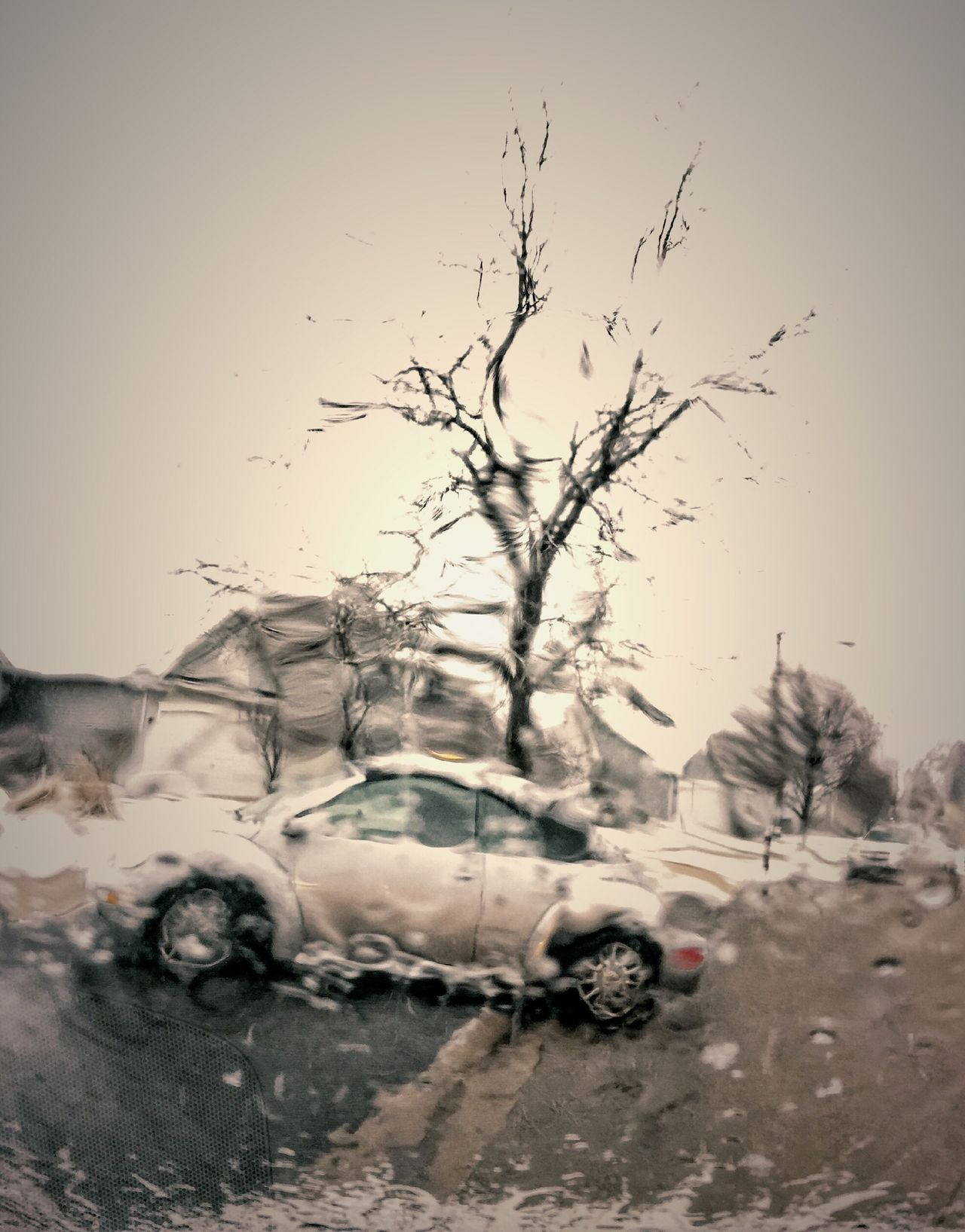Driving Rainy Day Car Wolsvagen IPhoneography Gray Distortion Things In Motion Abstract Photography In Motion Urban Spring Fever Iphonephotography Traveling Home For The Holidays Oswego, IL Resist