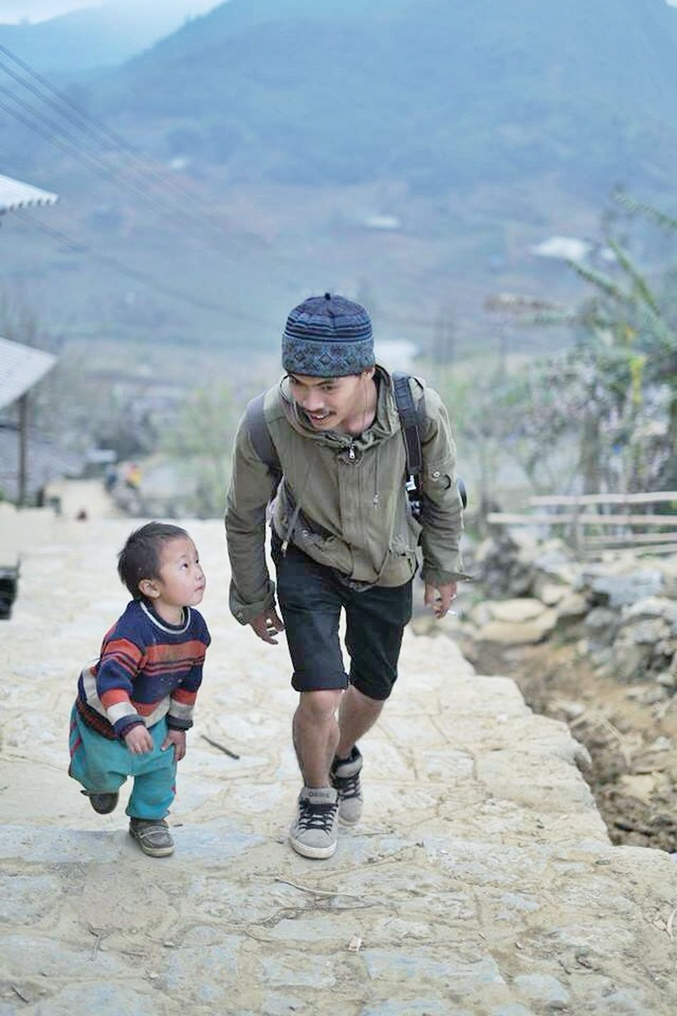 Sapa Vietnam Morning Children OpenEdit Friends Hello World GoodTimes ระหว่างทาง