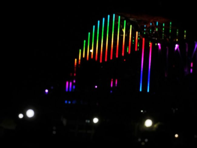 Hometown city showing our support for the victims in Orlando Orlandostrong Bridgeshot Bridge