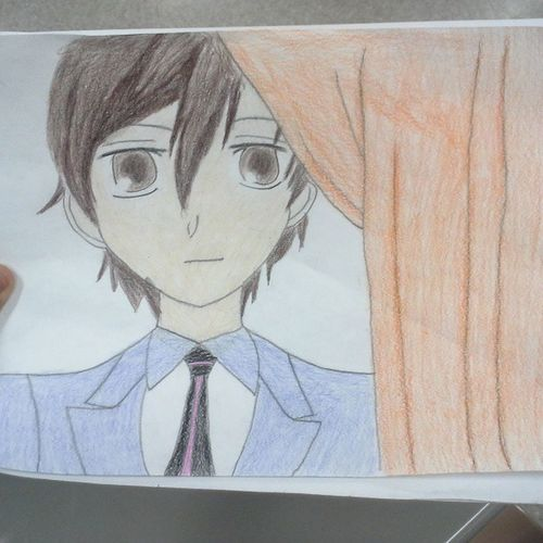 Hauruhi Cute Color Art If u love Anime Keep following me and if yur not following me u really should 2 c who else I draw.