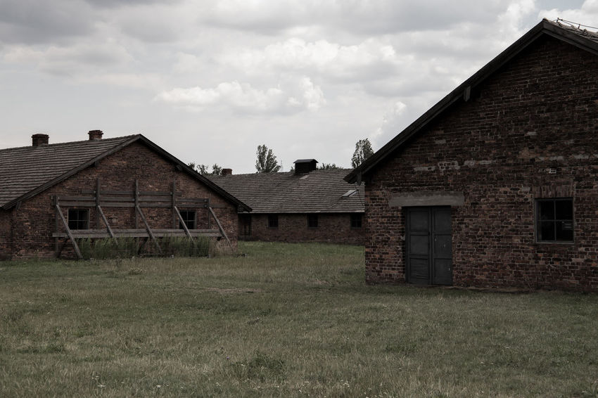 Aushwitz Aushwitz Residence Aushwitz-Birkenau Crakow Death Camp Eastern Europe Poland Abandoned Architecture Aushwitz Camp Building Exterior Built Structure Cloud - Sky Concentration Camp Concentrationcamp Country House Day Farmhouse Grass House Killing Krakow No People Outdoors Sad Sky
