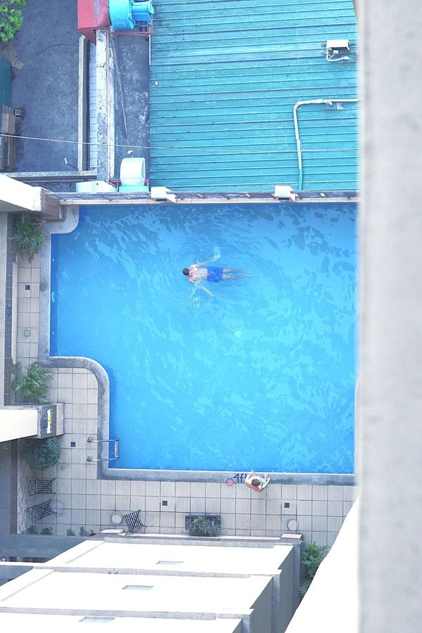 One Man Only Water Adult Strength Only Men One Person Adults Only Men Outdoors People Day Sportsman Athlete Sunny Dive Slpash Cringe Top View High Angle View Pool Sky Building Exterior Live For The Story
