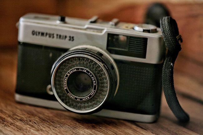 Old Camera Old 35 Mm Camera Vintage Camera Old School Camera Olympus Analogue Photography Analog Camera Old School Photography