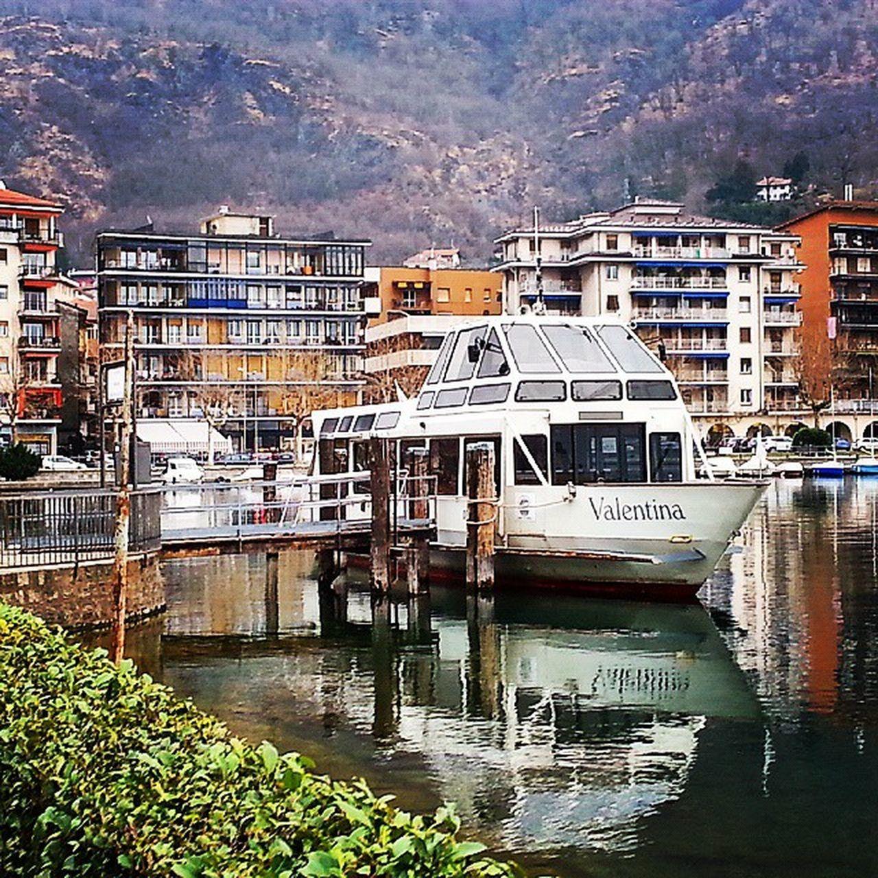 Imbarcadero Omegna Lago d' Orta  Lake Verbanocusioossola