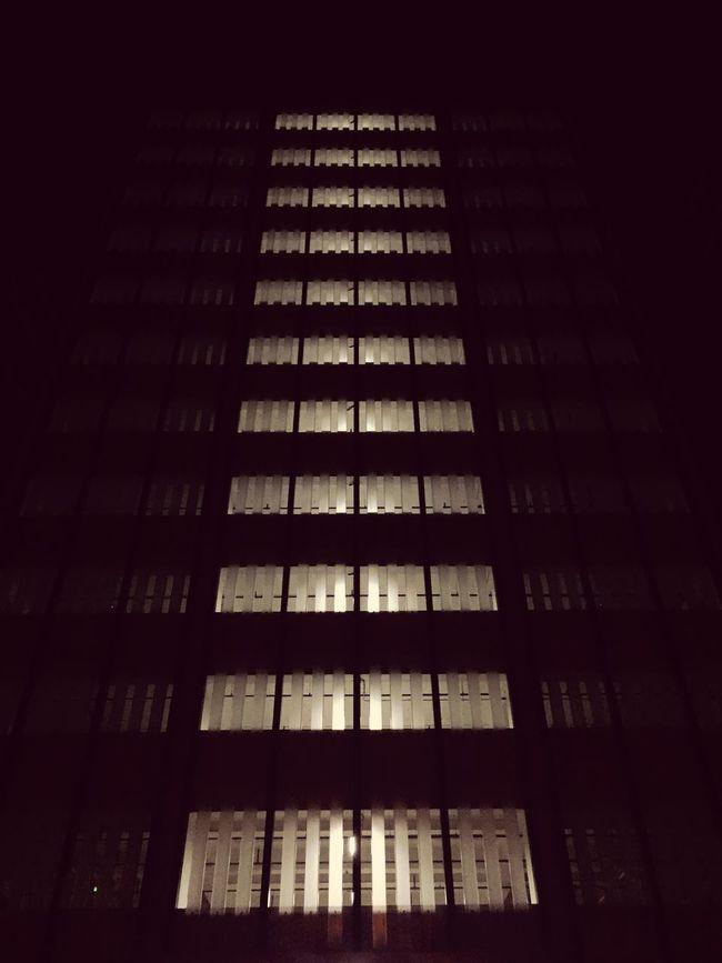 Midnight Buliding Silhouette Smart Simplicity