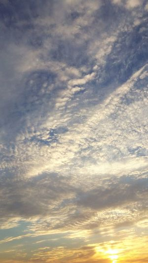 Cloud - Sky Dramatic Sky Sunset Nature Sky No People Backgrounds Outdoors Abstract Beauty In Nature Tranquility Scenics Landscape Blue Day Sky Only