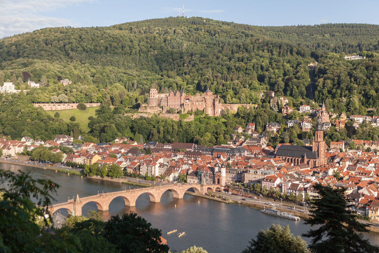 Alte Aula Alte Brücke Cable Car Castle City Elevated View Exterior View Germany Heidelberg Hills Historical Building Historical Sights Interior Views Old Bridge Schloss Travel Destinations Travel Photography University University Campus Vinery