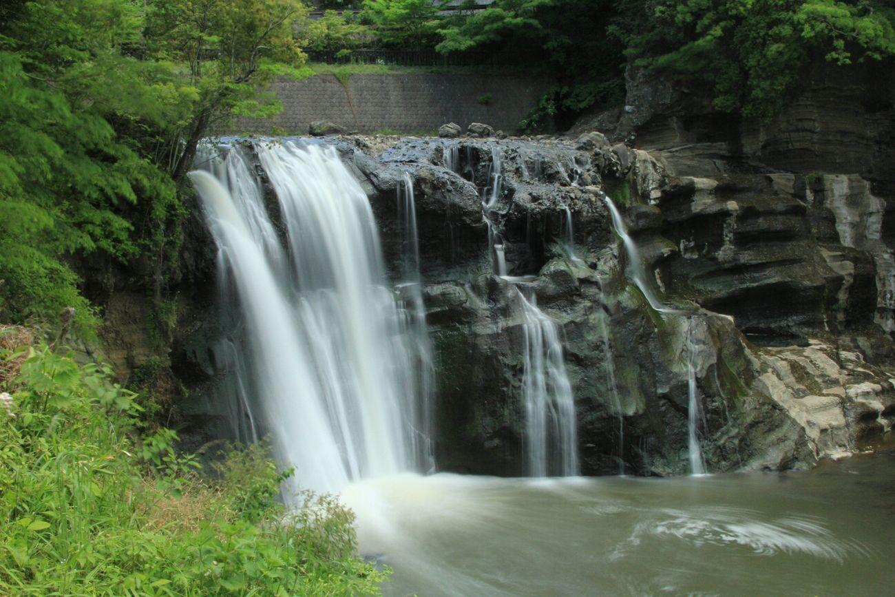 滝 マイナスイオン スローシャッター