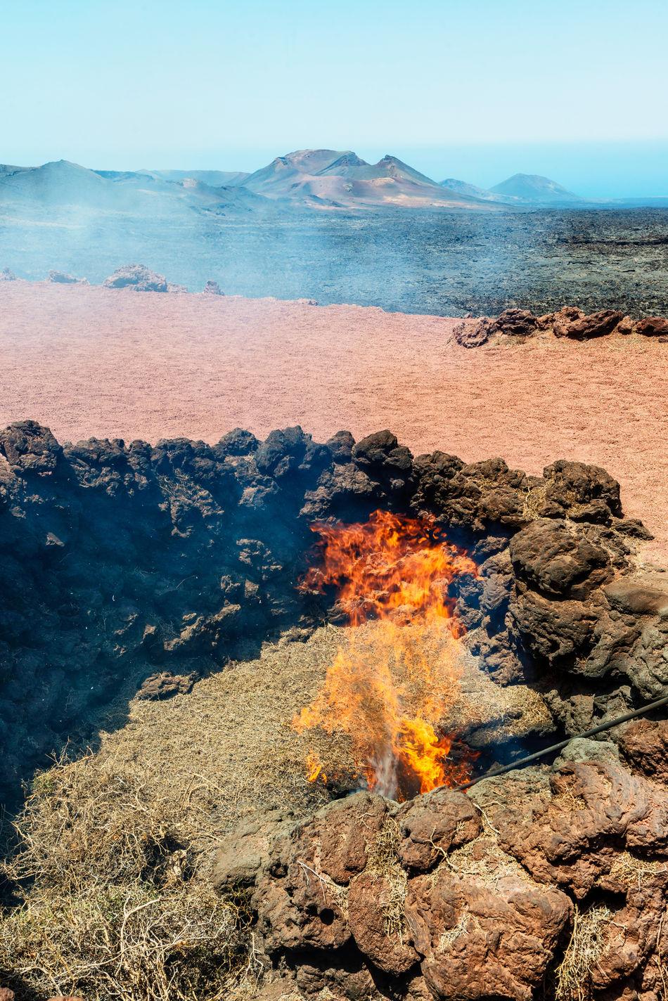 Beautiful stock photos of volcano, Burning, Clear Sky, Day, Fire - Natural Phenomenon