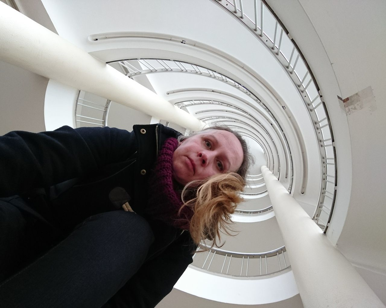 Me ... Hey!!!! Adults Only Indoors  One Woman Only Only Women One Person Adult People Day Architecture Modern Indoors  Built Structure Human Body Part Portrait Of Woman Selfportrait